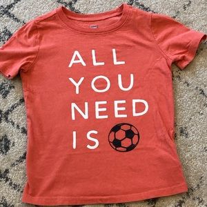 Boys Old Navy Soccer Graphic T